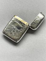 Lovely Victorian Silver Vesta (3 of 5)