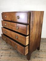 Antique 19th Century Mahogany Chest of Drawers (8 of 12)