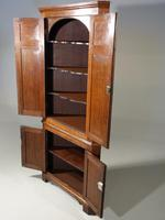Exceptional George III Period Oak Double Corner Cupboard (2 of 5)