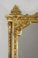 Victorian Gilt Overmantle Mirror (4 of 12)