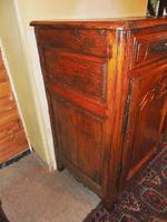 French provincial Louis XIV cherrywood buffet (7 of 12)