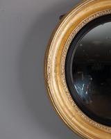 Late Regency Gilt Convex Mirror (3 of 3)