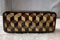 Early Victorian Horn Inlaid Snuff Box (2 of 11)