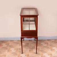 Inlaid Mahogany Display Cabinet (6 of 12)