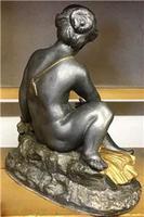 1900's Spelter Cherub Figure (4 of 6)