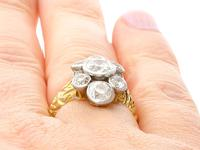 3.54ct Diamond & 18ct Yellow Gold Cluster Ring (9 of 9)
