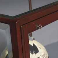 Edwardian Mahogany Display Cabinet on Stand (4 of 6)