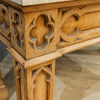 Gothic Oak Console Table (7 of 7)