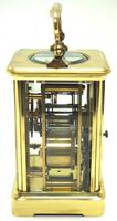 Large Classic Antique French 8-day Gong Striking Carriage Clock c.1880 (4 of 10)