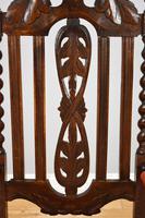 Pair of 1910 Oak Barley Twist Armchairs (10 of 15)
