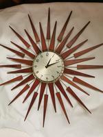Vintage Star Burst Clock (5 of 5)