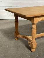 Nice Bleached Oak Farmhouse Dining Table (8 of 19)