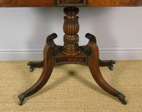 Elegant Regency Mahogany Side / Tea Table (7 of 7)