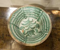 "Large Late 18th Century Spanish Granada Fajalouza ""Lebrillo"" Bowl (3 of 11)"