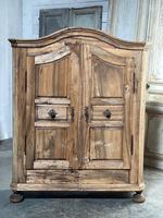 18th Century French Fruitwood Armoire (5 of 19)