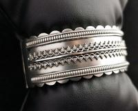 Antique Victorian Silver Bangle, Aesthetic Era, Boxed (14 of 17)