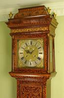 Fine Month Marquetry Longcase Grandfather Clock - Bird, London (2 of 16)