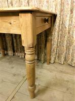 Victorian Pine Kitchen Table c.1860 (7 of 8)