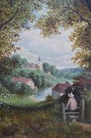Fine Pair of English Landscapes - J J Hill (5 of 11)