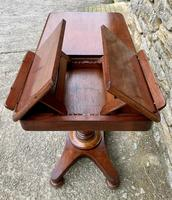 Victorian Mahogany Adjustable Duet Reading Stand (18 of 20)