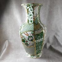 "Mason's Ironstone ""Applique"" Pattern  Hexagonal Vase (4 of 5)"