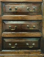Beautiful 18th Century Georgian Period English Country Oak Mule Chest Sideboard Cabinet (13 of 19)