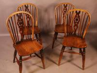Set of 6 Kitchen Windsor Chairs Ash & Elm Thames Valley (14 of 21)