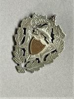 Superb Quality Edwardian Silver & Gold Fob