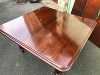 Antique Mahogany 3 Leaf Extending Dining Table (5 of 12)