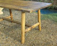 Antique Farmhouse Rustic / Industrial Table (8 of 9)