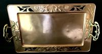 WMF Copper and Brass Butlers Tray (2 of 5)