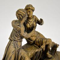 Antique Carved Wood Classical Sculpture (6 of 12)