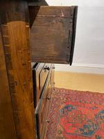 18th Century Walnut And Yew Wood Commode (4 of 5)