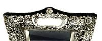 "Antique Edwardian Sterling Silver 9 1/2"" Photo Frame 1902 (9 of 11)"