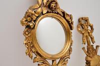 Antique Italian Giltwood Mirror Set (8 of 12)