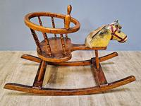 19th Century Childs Rocking Horse (4 of 5)