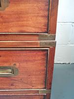 Vintage Wooden Campaign Chest (3 of 8)