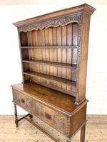Decorative Antique Carved Oak Dresser (9 of 10)