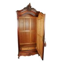 19th Century Rosewood Armoire (3 of 8)