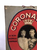 Pub Advertising Brewery Duckworth Showcard Coronation Cheerio Champagne (2 of 6)