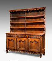 18th Century Chestnut Dresser & Rack