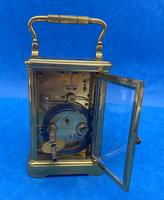 Victorian 8 Day  Brass Carriage Clock (11 of 13)