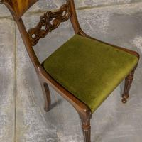Set of Four William IV Mahogany Dining Chairs (3 of 7)