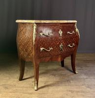French Stamped Louis XV Kingwood Bombe Commode (9 of 13)