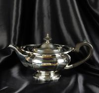 1930's Three Piece Silver Tea Set by Walker & Hall (5 of 21)