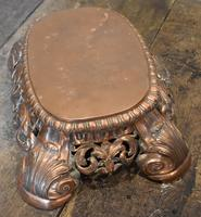 Fine Pierced Copper Repousse Stand (7 of 8)
