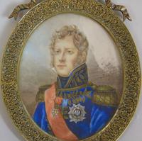 Outstanding Portrait Miniature. Marshall of the Empire. Michel Ney (6 of 6)