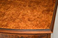 Georgian Style Burr Walnut Chest of Drawers (12 of 12)