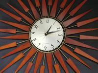 Vintage Star Burst Clock (3 of 5)