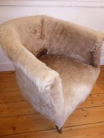 Hide Upholstered Tub Chair (6 of 6)